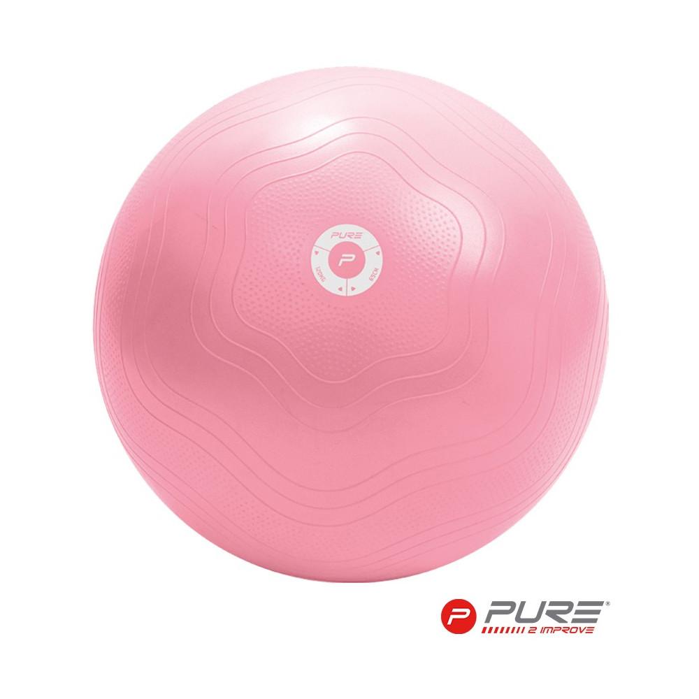 Yoga Ball (Anti-burst) - Pink - 65cm