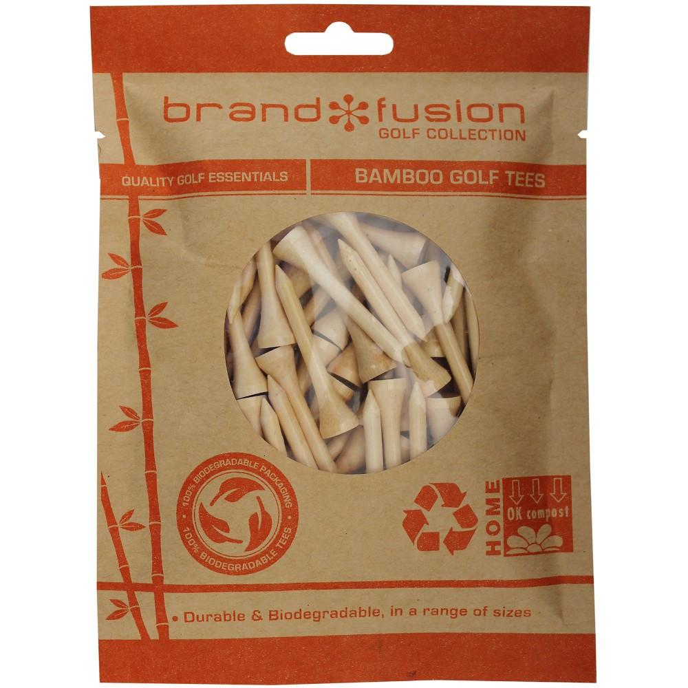 Biodegradable - Bamboo Golf Tees - Various Heights