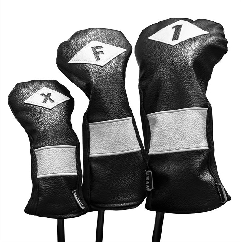 Classic Style Golf Headcovers - Driver, Fairway or Hybrid