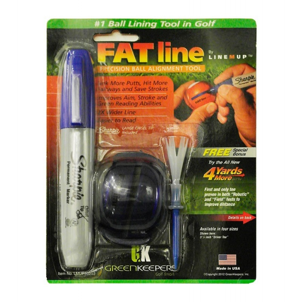 Line-M-Up - Fat Line Golf Ball Marking Aid