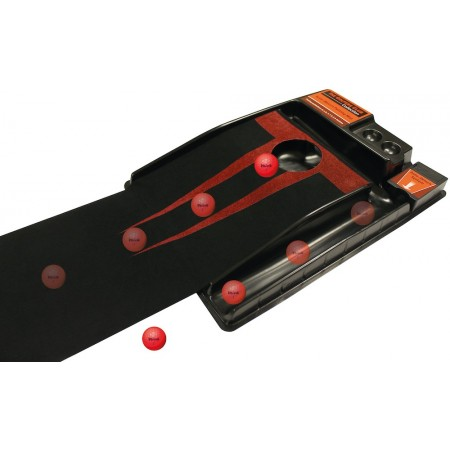 Deluxe Putting Mat with Automatic Ball Return