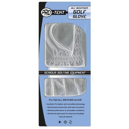 Pro-Tekt All Weather Golf Glove - White